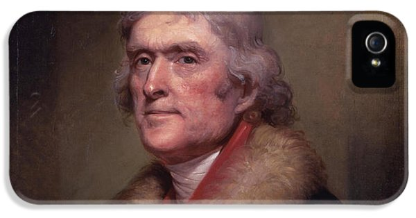 President Thomas Jefferson IPhone 5 Case by War Is Hell Store