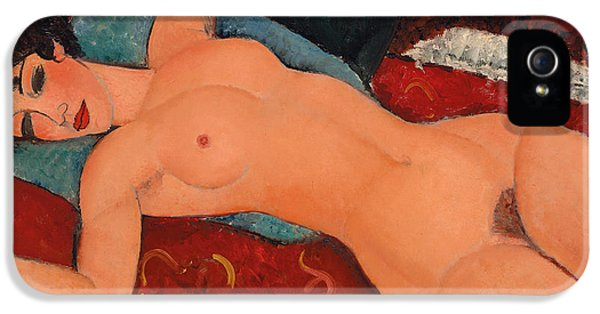 Reclining Nude IPhone 5 Case by Amedeo Modigliani