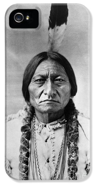 Sitting Bull (1834-1890) IPhone 5 Case by Granger