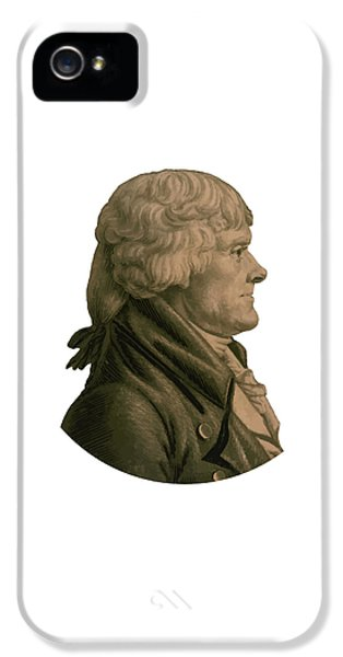 Thomas Jefferson IPhone 5 Case
