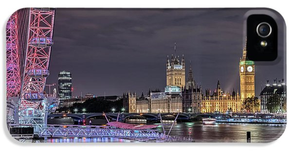 Westminster - London IPhone 5 Case by Joana Kruse