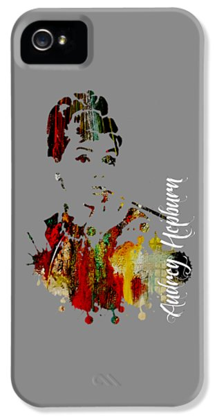 Audrey Hepburn Collection IPhone 5 / 5s Case by Marvin Blaine