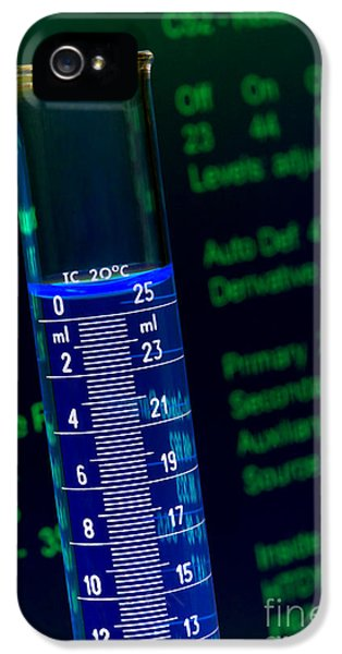 Laboratory Experiment In Science Research Lab IPhone 5 Case by Olivier Le Queinec