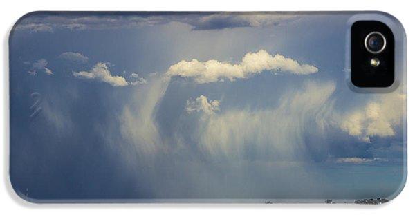 Nebraskasc iPhone 5 Case - Afternoon Nebraska Thunderstorm by NebraskaSC