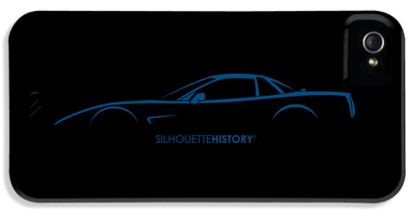 American Sports Car Silhouettehistory IPhone 5 Case