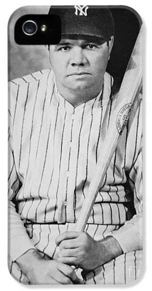 Babe Ruth IPhone 5 Case