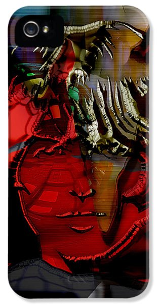 George Harrison Art IPhone 5 / 5s Case by Marvin Blaine