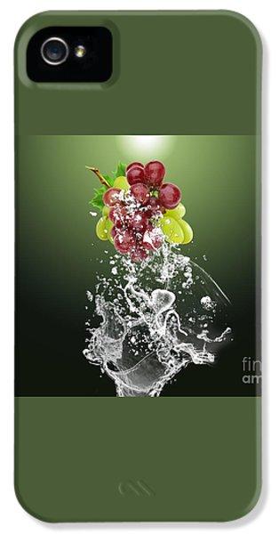 Grape Splash IPhone 5 / 5s Case by Marvin Blaine