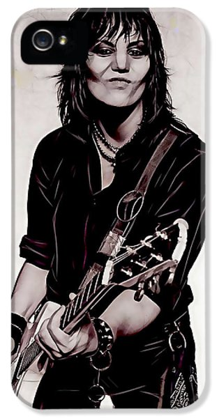 Joan Jett Collection IPhone 5 Case by Marvin Blaine