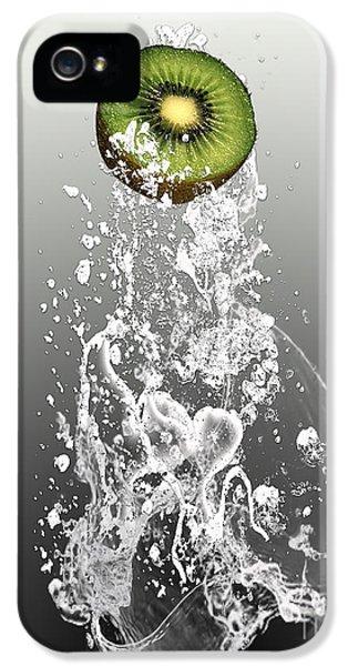 Kiwi Splash IPhone 5 Case by Marvin Blaine