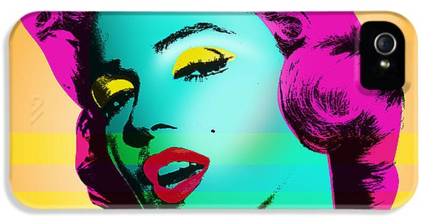 Marilyn Monroe IPhone 5 Case by Mark Ashkenazi