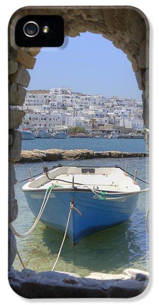 Paros - Cyclades - Greece IPhone 5 Case by Joana Kruse