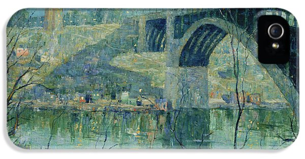 Spring Night, Harlem River IPhone 5 Case