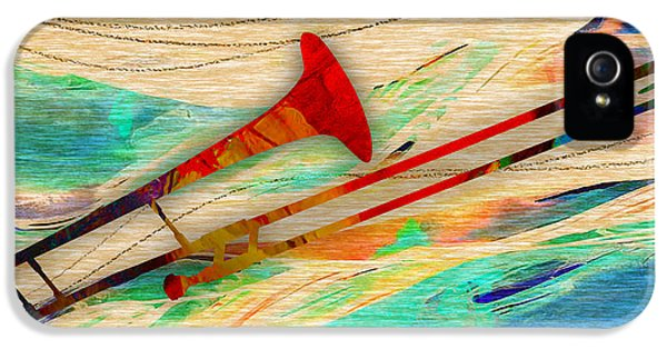 Trombone Collection IPhone 5 / 5s Case by Marvin Blaine
