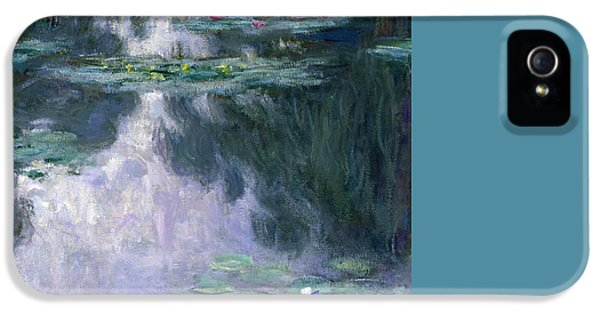 Impressionism iPhone 5 Case - Waterlilies by Claude Monet