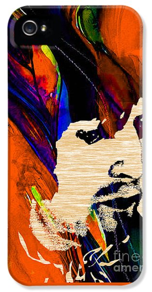 Eric Clapton Collection IPhone 5 Case by Marvin Blaine
