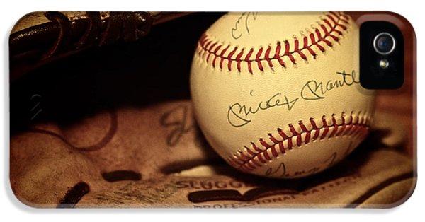 50 Home Run Baseball IPhone 5 Case by Mark Miller