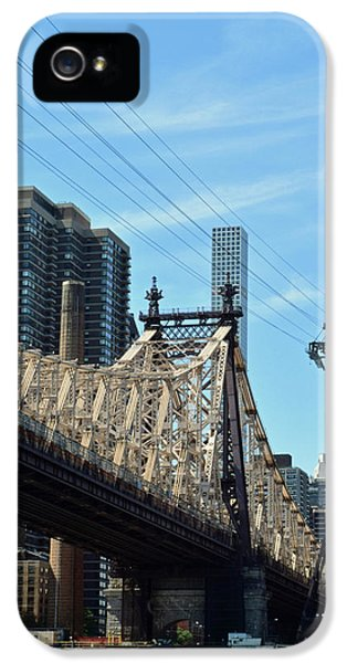 59th Street Bridge No. 4 IPhone 5 Case by Sandy Taylor