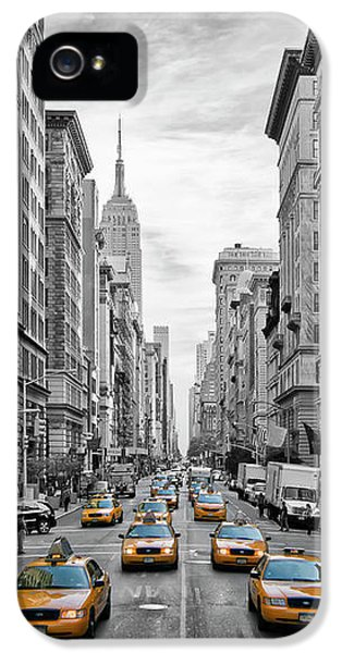 5th Avenue Nyc Traffic IPhone 5 Case