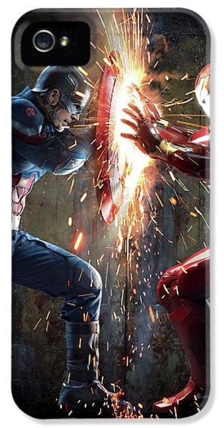 Captain America Civil War 2016 IPhone 5 Case