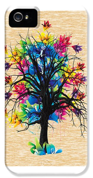 Color Tree Collection IPhone 5 Case by Marvin Blaine