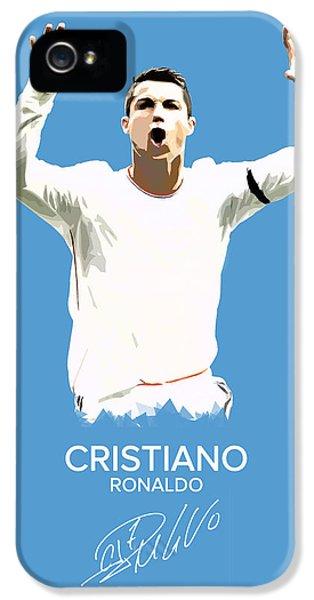 Cristiano Ronaldo IPhone 5 / 5s Case by Semih Yurdabak