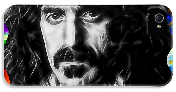 Frank Zappa Collection IPhone 5 Case by Marvin Blaine