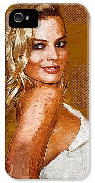 Margot Robbie Art IPhone 5 / 5s Case by Best Actors