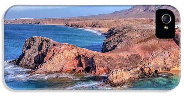 Playa Papagayo - Lanzarote IPhone 5 Case by Joana Kruse