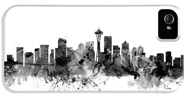 Seattle Washington Skyline IPhone 5 Case