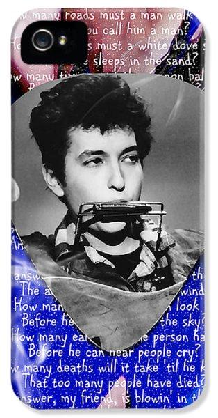 Bob Dylan Art IPhone 5 Case