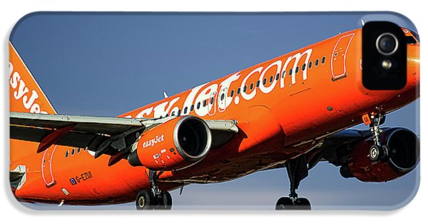 Jet iPhone 5 Case - Easyjet 200th Airbus Livery Airbus A320-214 by Smart Aviation