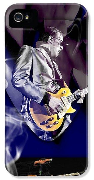 Joe Bonamassa Blues Guitarist Art IPhone 5 Case by Marvin Blaine
