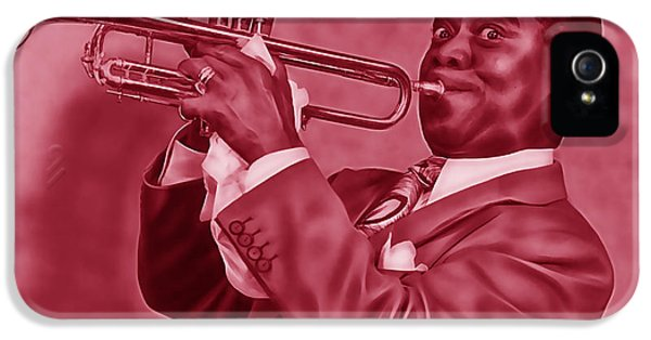 Louis Armstrong Collection IPhone 5 Case by Marvin Blaine