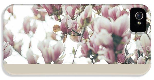 Magnolia IPhone 5 Case by Jelena Jovanovic