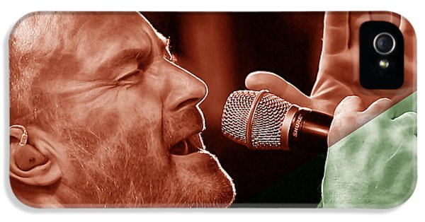Phil Collins Collection IPhone 5 Case by Marvin Blaine