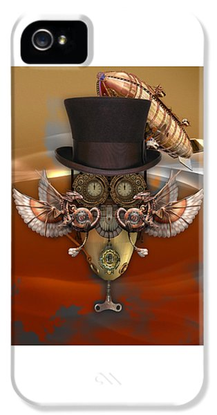 Steampunk Art IPhone 5 Case by Marvin Blaine