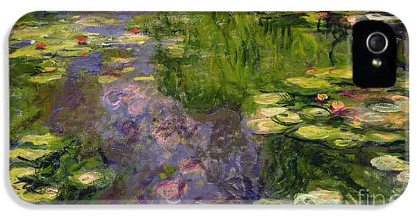 Lily iPhone 5 Case - Waterlilies by Claude Monet