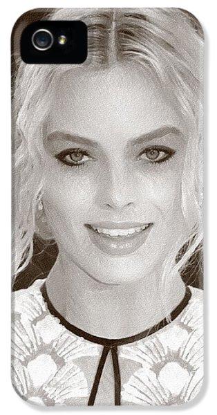 Actress Margot Robbie IPhone 5 Case by Best Actors