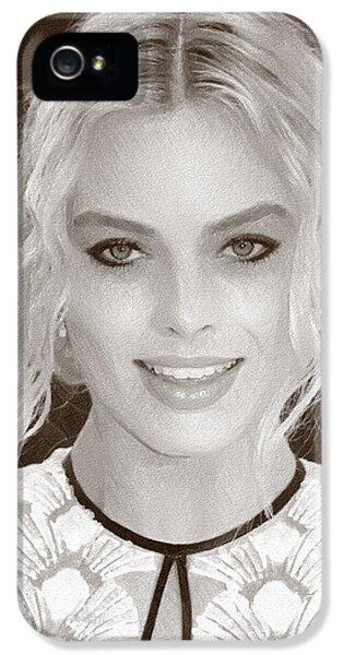 Actress Margot Robbie IPhone 5 / 5s Case by Best Actors