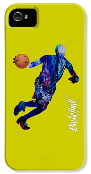 Basketball Collection IPhone 5 Case by Marvin Blaine