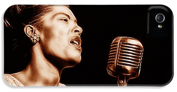 Billie Holiday Collection IPhone 5 Case by Marvin Blaine