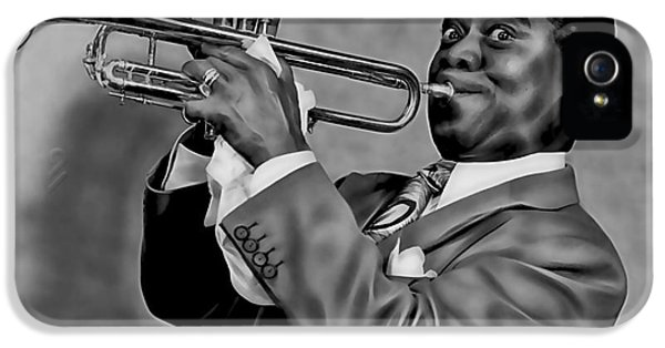 Louis Armstrong Collection IPhone 5 / 5s Case by Marvin Blaine