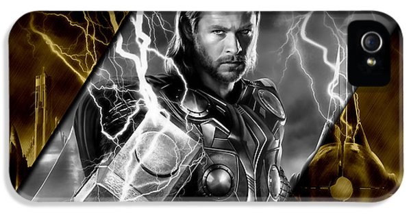 Thor Collection IPhone 5 Case by Marvin Blaine