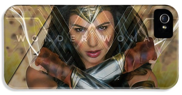 Wonder Woman Art IPhone 5 Case