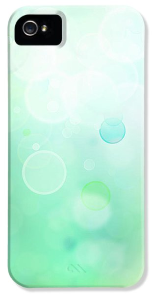 Glowing iPhone 5 Cases - Abstract background iPhone 5 Case by Les Cunliffe