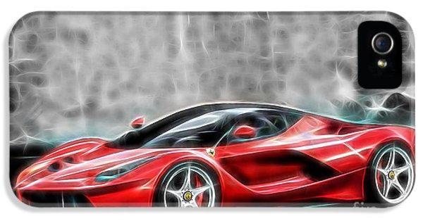Ferrari Laferrari IPhone 5 Case by Marvin Blaine