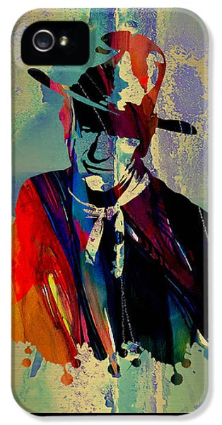 Hollywood iPhone 5 Case - John Wayne Collection by Marvin Blaine