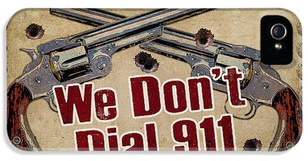 911 IPhone 5 Case