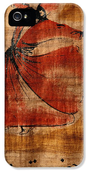 Turkey iPhone 5 Case - A Beautiful Painting Of A Whirling by Gianluca Colla